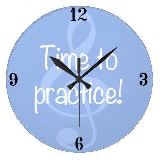 Zeit, Uhr zu üben