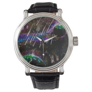 Zeit- und Raumuhr Armbanduhr