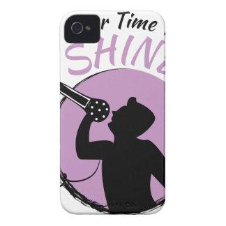Zeit zu glänzen iPhone 4 Case-Mate hülle
