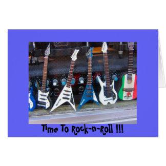 Zeit zum Rock'n'Roll Karte