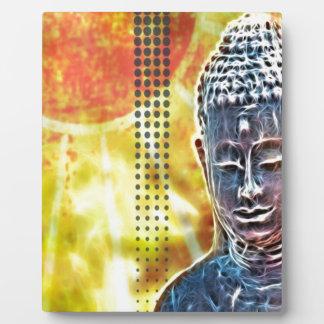 Zeitalter-Yoga-Meditations-geistiger Zen Buddha Fotoplatte
