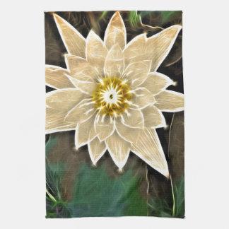 Zeitalter-Zen-Buddhismus-Yoga Namaste weißes Lotus Handtuch