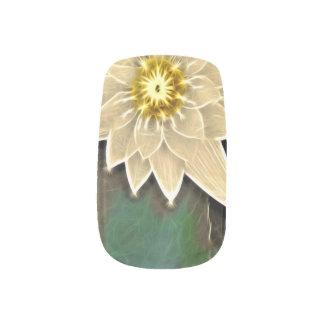 Zeitalter-Zen-Buddhismus-Yoga Namaste weißes Lotus Minx Nagelkunst