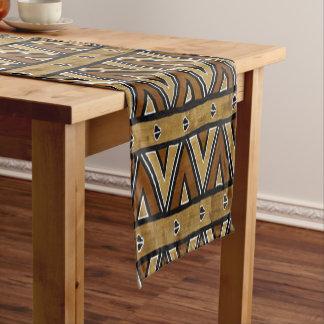 Zeitgenosse: Afrikanischer Art-Entwurf Kurzer Tischläufer
