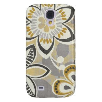 Zeitgenössische Blumenmuster Galaxy S4 Hülle