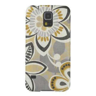 Zeitgenössische Blumenmuster Samsung S5 Hüllen