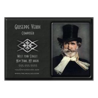 Zeitgenössische Deluxe kundenspezifische Jumbo-Visitenkarten