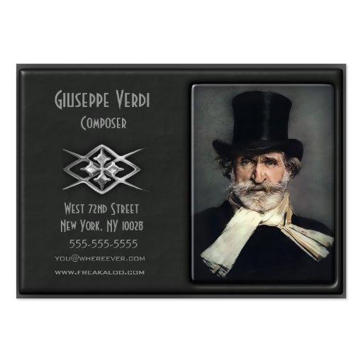 Zeitgenössische Deluxe kundenspezifische Visitenka Visitenkartenvorlage