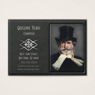 Zeitgenössische Deluxe kundenspezifische Visitenkarte
