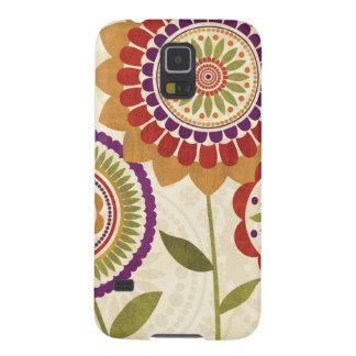 Zeitgenössische Fall-Blumen Hülle Fürs Galaxy S5
