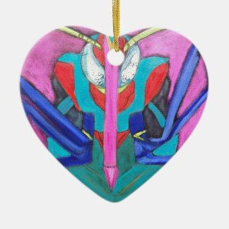 Zeitgenössische KunstTsetse-Fliegen-Entwurf Keramik Ornament