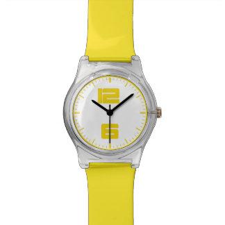zeitgenössische Uhr des Gelbs may28th