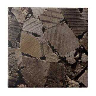 Zeitgenössischer Holzspanchip-entwurf Grauton Keramikfliese