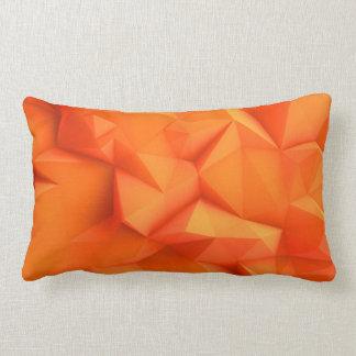 zeitgenössischer orange Entwurf Lendenkissen