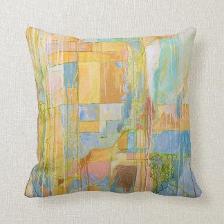 Zeitgenössisches abstraktes Kunst-Kissen Kissen