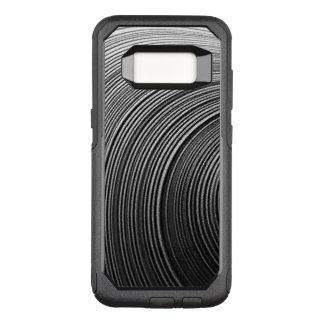 Zeitgenössisches abstraktes Muster OtterBox Commuter Samsung Galaxy S8 Hülle