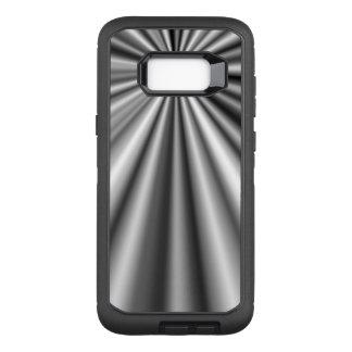 Zeitgenössisches abstraktes Muster OtterBox Defender Samsung Galaxy S8+ Hülle