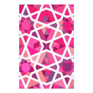 Zeitgenössisches islamisches Muster Bedrucktes Büropapier