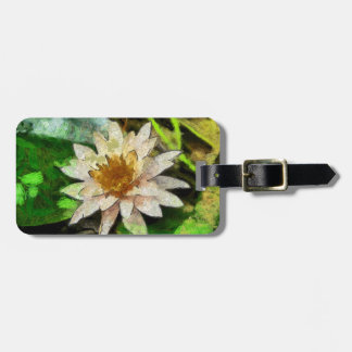 Zeitgenössisches Lotus Gepäckanhänger