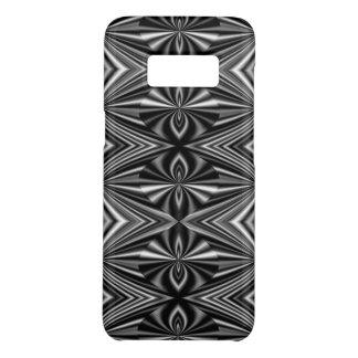 Zeitgenössisches stilvolles Schwarzweiss-Muster Case-Mate Samsung Galaxy S8 Hülle