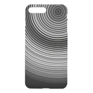 Zeitgenössisches stilvolles Schwarzweiss-Muster iPhone 8 Plus/7 Plus Hülle