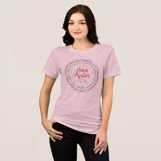 Zeitraum-Drama-entspannter T - Shirt Janes Austen