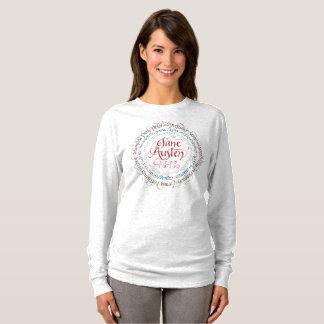 Zeitraum-Drama-langer Hülsen-T - Shirt Janes
