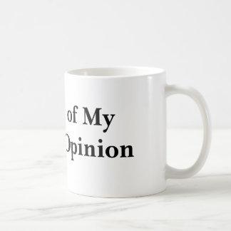 Zeitschrift meiner gegenwärtigen Meinung Kaffeetasse