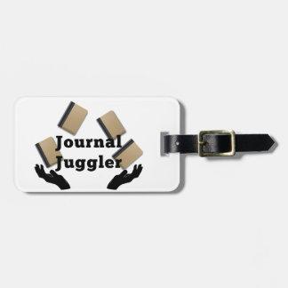Zeitschriften-Jongleur Gepäckanhänger