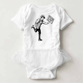 Zeitungsjunge Baby Strampler