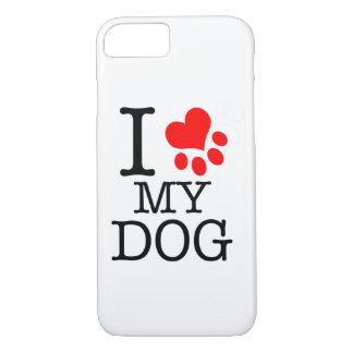 Zell Hülle von love I my dog