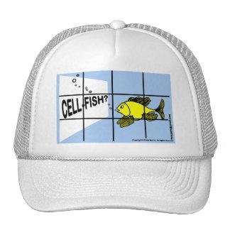 Zelle-Fische der unglaublich witzig egoistischer F Baseball Mütze