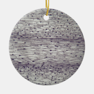 Zellen einer Wurzel unter dem Mikroskop Keramik Ornament