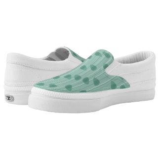 Zellulärer Aufenthaltsraum - Aqua mono Slip-On Sneaker