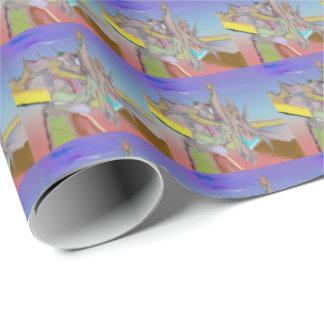 Zelt-abstrakter Entwurf Geschenkpapier