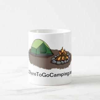 Zelt-/Feuer-Tasse Kaffeetasse