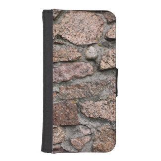 ZEMENTIERTE FELSEN iPhone SE/5/5s GELDBEUTEL HÜLLE