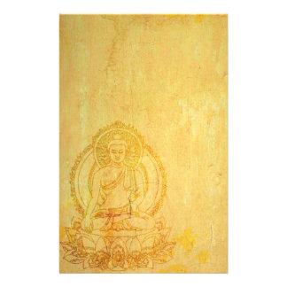 Zen-Buddha-Briefpapier Personalisiertes Büropapier