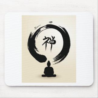 Zen-Buddha-Mausunterlage Mousepads