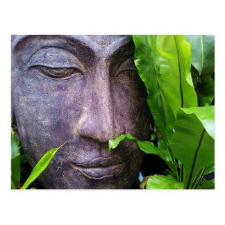 Zen-Buddha-Ruhe-Postkarte Postkarte