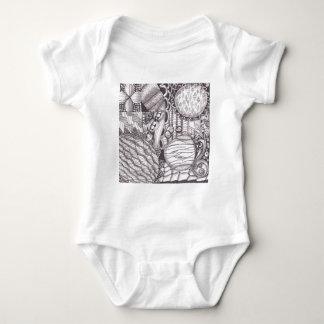 Zen-Durcheinander Baby Strampler