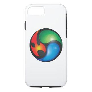 Zen-Elemente Yin Yan Symbol iPhone 8/7 Hülle