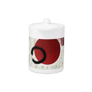 Zen Ensō Kreis mit Kanji-Potenzial 1
