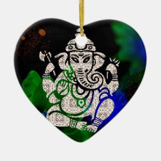 Zen Ganesh Keramik Ornament