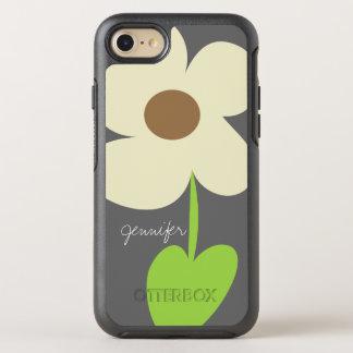 Zen-Gänseblümchen personalisiertes iPhone 8/7 Fall OtterBox Symmetry iPhone 8/7 Hülle