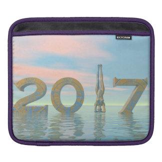 Zen-guten Rutsch ins Neue Jahr 2017 - 3D Sleeve Für iPads