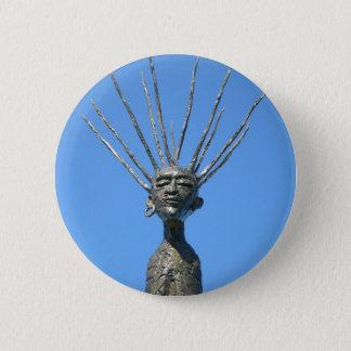 Zen Runder Button 5,7 Cm