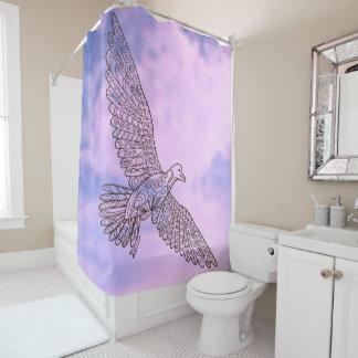 zen seagull duschvorhang