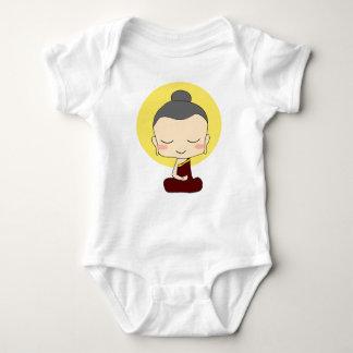 Zen wenig Buda Art Baby Strampler