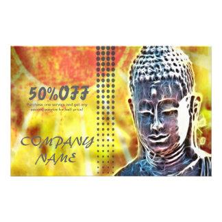 Zenbuddha-Meditation Yoga-Massage-Therapeut Flyer